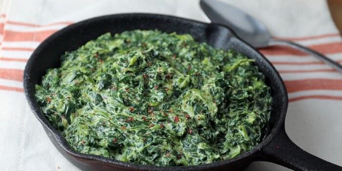 Easy Keto Creamed Spinach
