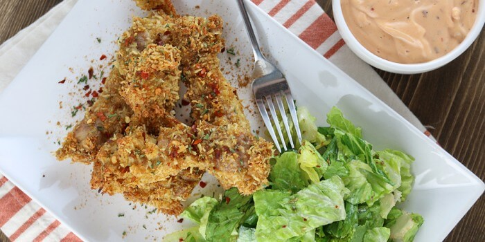 Keto Coconut Curry Chicken Tenders